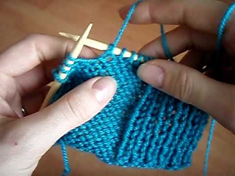 How To Knit Increases Knit Front And Back Kfb Purl Front And