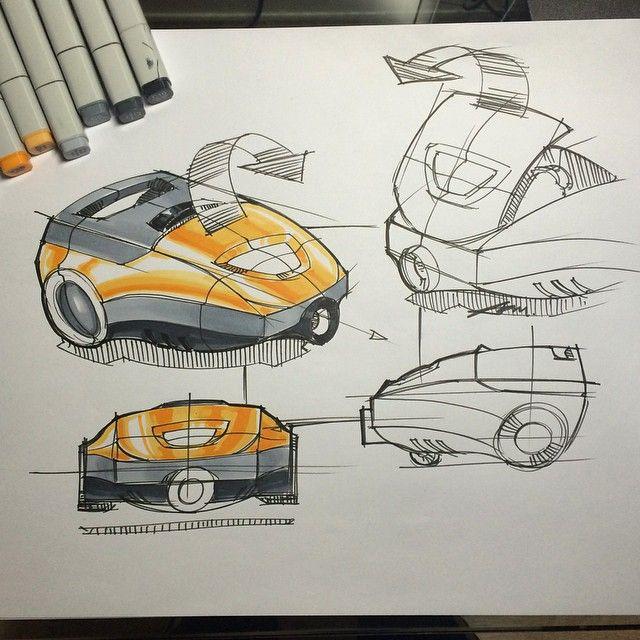 #dailysketch#sketch#drawing#productdesignsketch#design#idsketch#marker#rendering#copic#2drendering#vacuum#markerrendering#productdesign#industrialdesign#industrialsketch