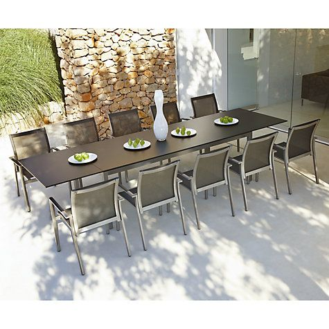 Buy Gloster Azore Outdoor Furniture Online At Johnlewis Custom Dining Room Chairs Online Review
