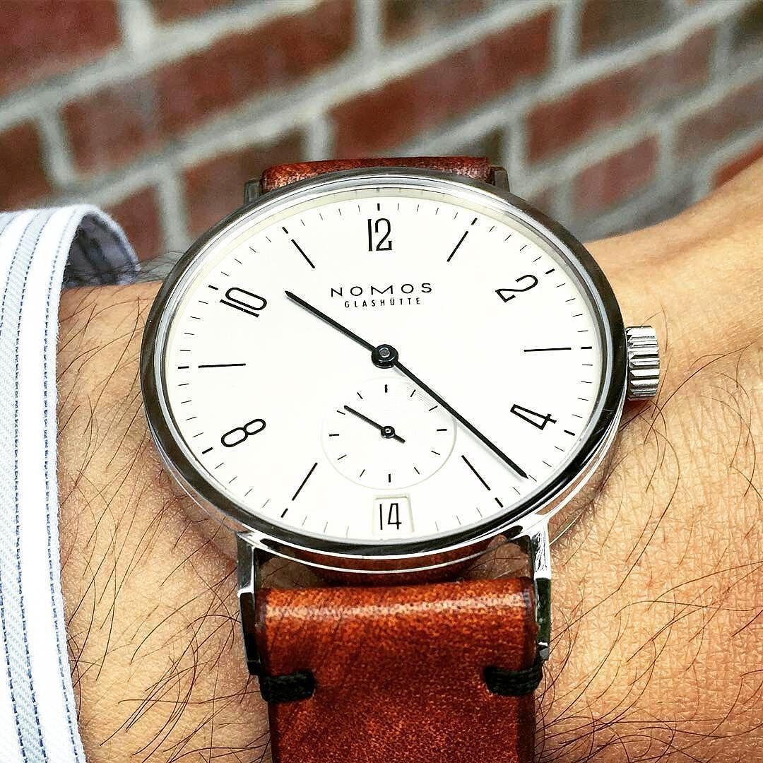 @Regrann from @artisanstrapco -  Nom Nom Nomos! W/ @louifnrbjakdnb #artisanstrapco #asc #handmade #watch #watches #mensfashion #gq #dapper #hodinkee #sevenfriday #dailywatch #watchesofinstragram #watchoftheday #seiko #nixon #tudor #omega #nomos #rolex #handmade #teamHNNGGG #apple #watchuseek #iwatch #applewatch #wotd #wristporn #wis by smartmobilegear