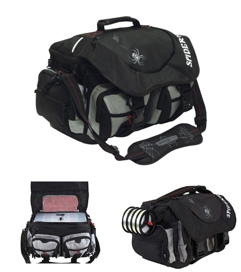 Adjustable Fish Tackle Bag With 4 Boxes Shoulder Strap