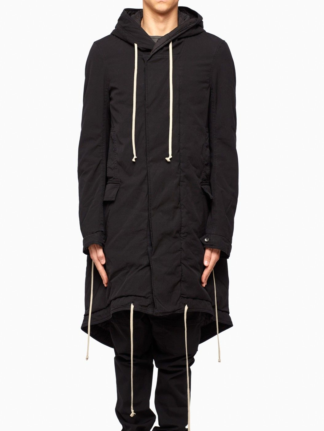 Fishtail parka from F/W2015-16 Rick Owens DRKSHDW