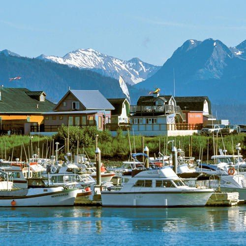 Homer, Alaska...loved visiting here! - DONE Homer is our all time favorite place in Alaska! It's such a fun, artsy, ecclectic town with suberp restaurants. ^I never thought of this but I hope this person is right!