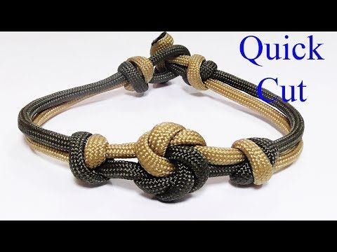 Quothow You Can Make A Chinese Button Knot Paracord Bracelet