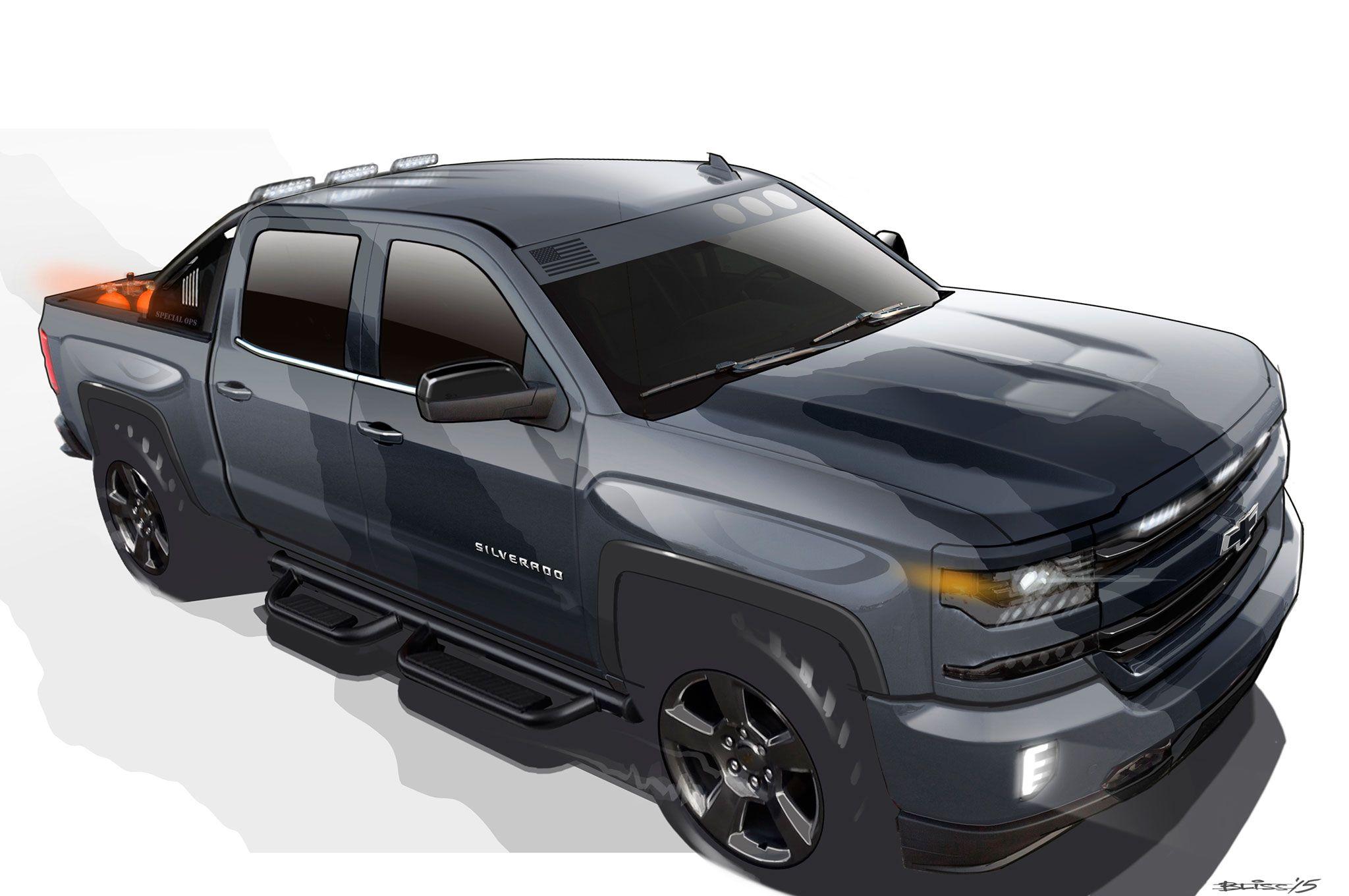 Chevrolet Silverado Special Ops Edition Entering Limited