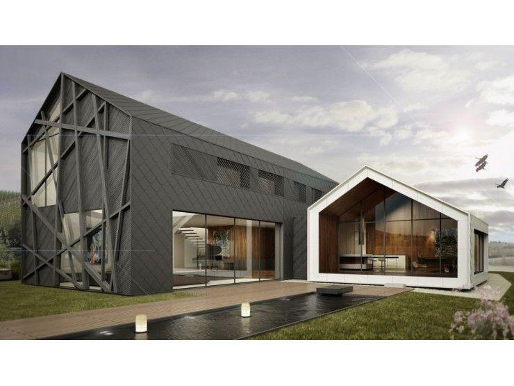 Avantgarde 03 - #Einfamilienhaus von BlackLine | HausXXL ...