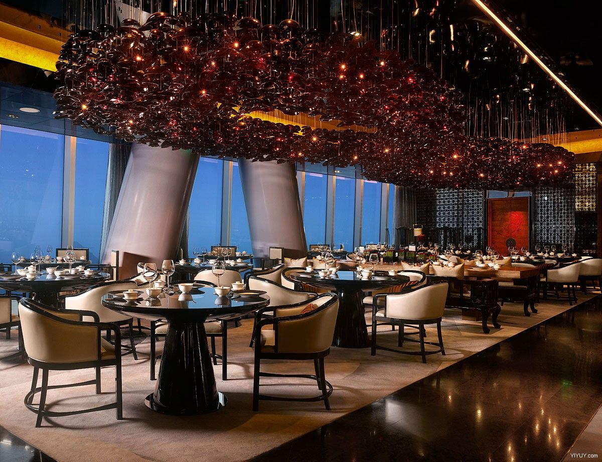 Four seasons hotel restaurant interior design love the - Interior design for hotels and restaurants ...