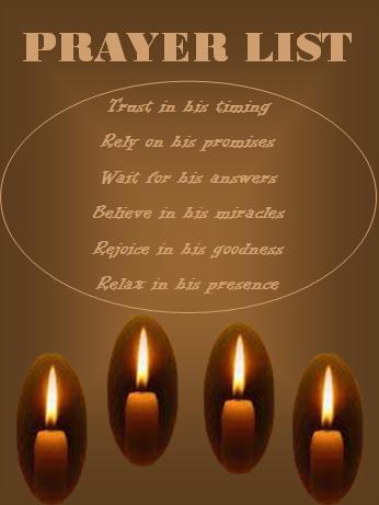 Prayer List Template   My Favorite Internet word Templates ...