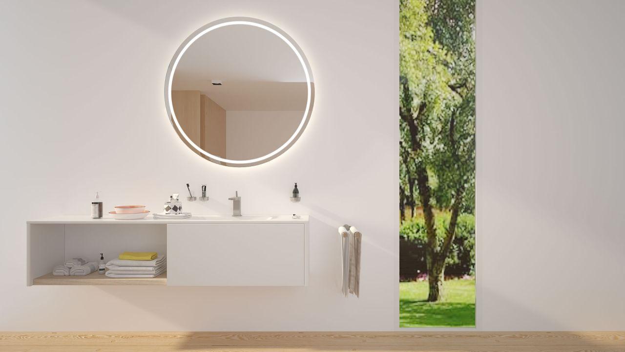 Europa Badspiegel Bad Spiegel Beleuchtung Und Badezimmerspiegel