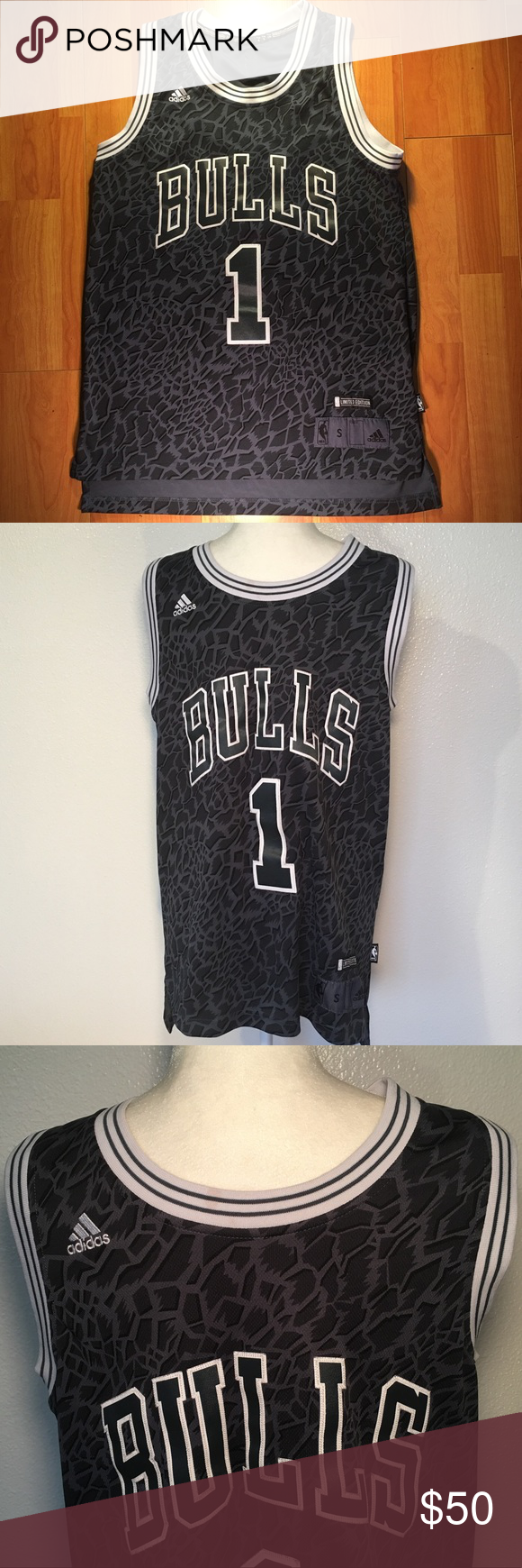 hot sale online 54244 2aeff Limited Edition Adidas Techshift Swingman Jersey NWOT Adidas ...