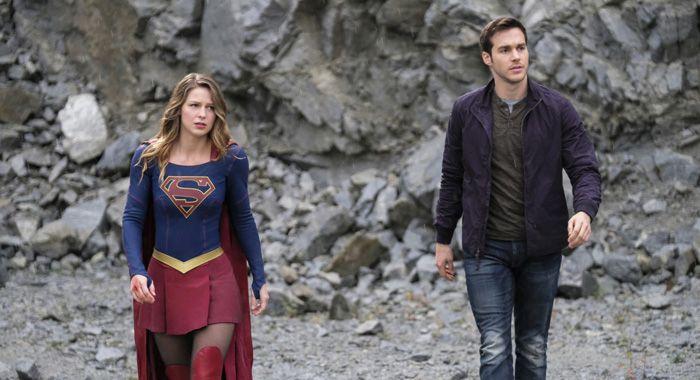 Supergirl S Mon El Chris Wood On Singing Body Scans And The Vampire Diaries Supergirl Season Melissa Supergirl Supergirl