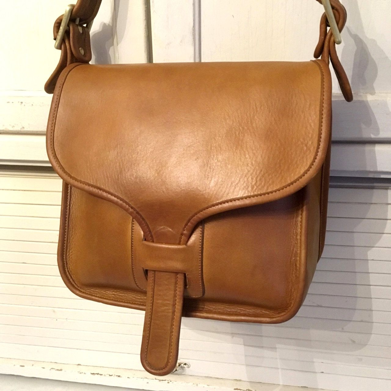 Vintage Coach Courier Pouch - Tabac Tan - Made in New York City by  CindysCoachCloset on 035d1e3ad8173