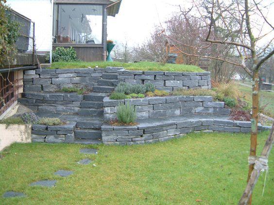 b schung gestalten google suche steinmauer pinterest. Black Bedroom Furniture Sets. Home Design Ideas