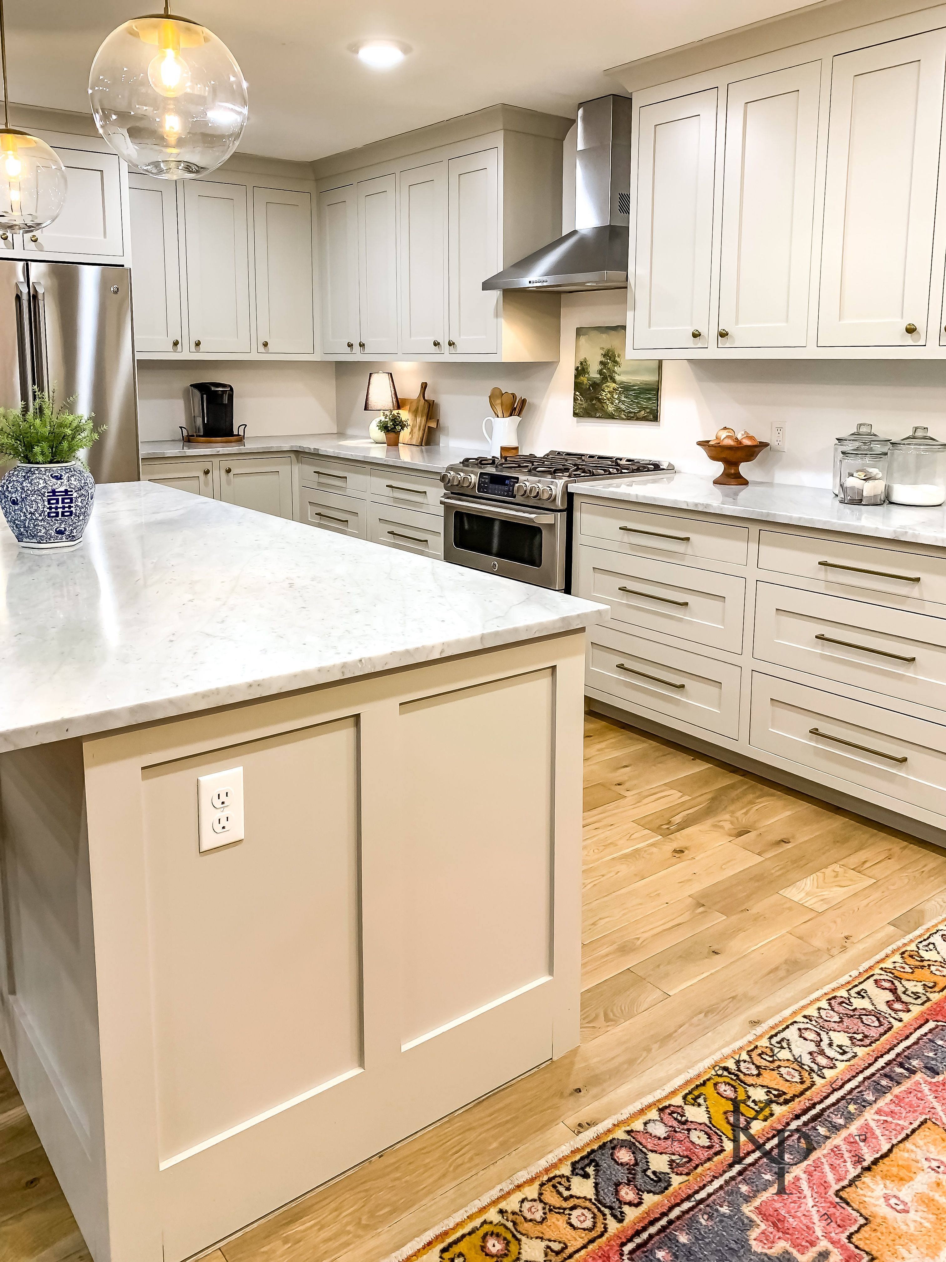 Revere Pewter Kitchen Cabinets Painted By Kayla Payne Revere Pewter Kitchen Kitchen Cupboards Paint Kitchen Cabinets