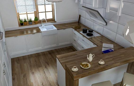 Kuchnia Litera U Projekt Szukaj W Google Kitchen