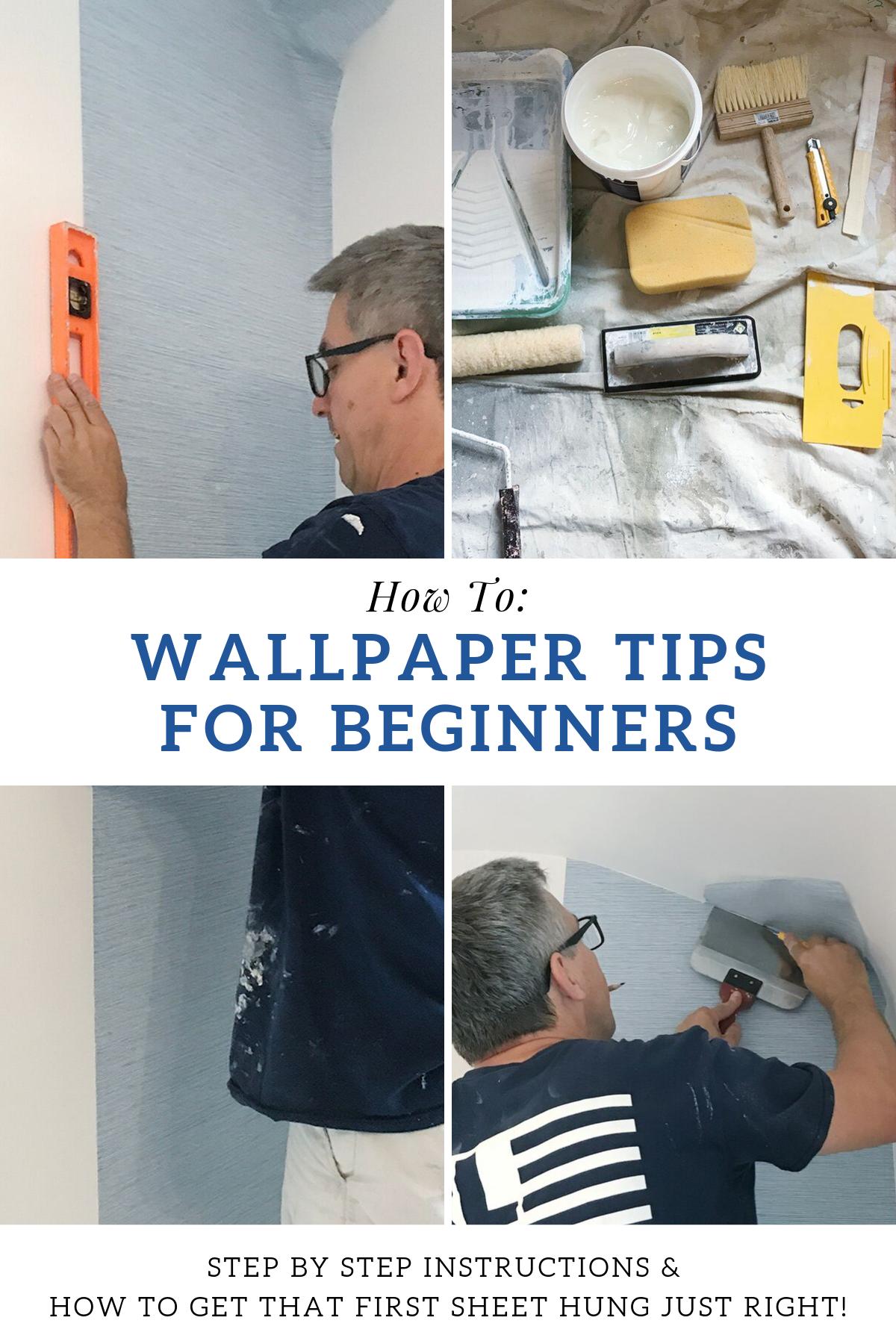 Rambling Renovators Paste The Wall Wallpaper Tips Wallpapering Tips How To Install Wallpaper How To Hang Wallpaper