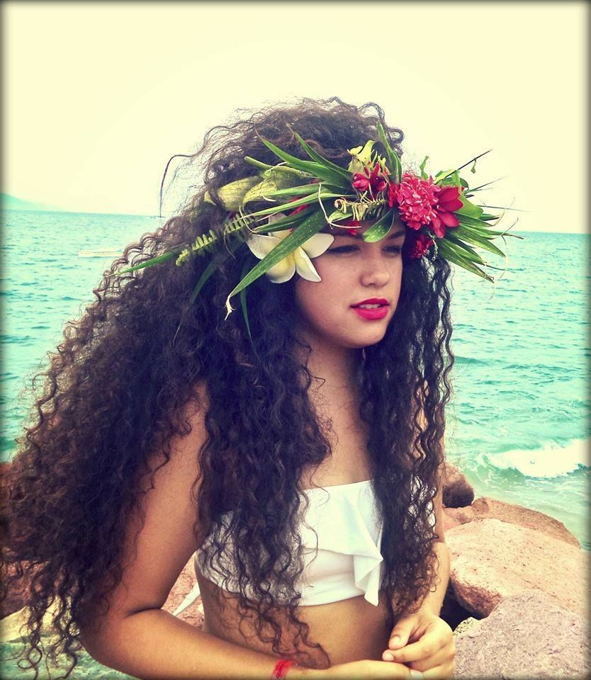 Polynesian Girl Hawaiian Hairstyles Polynesian Girls Hair Styles