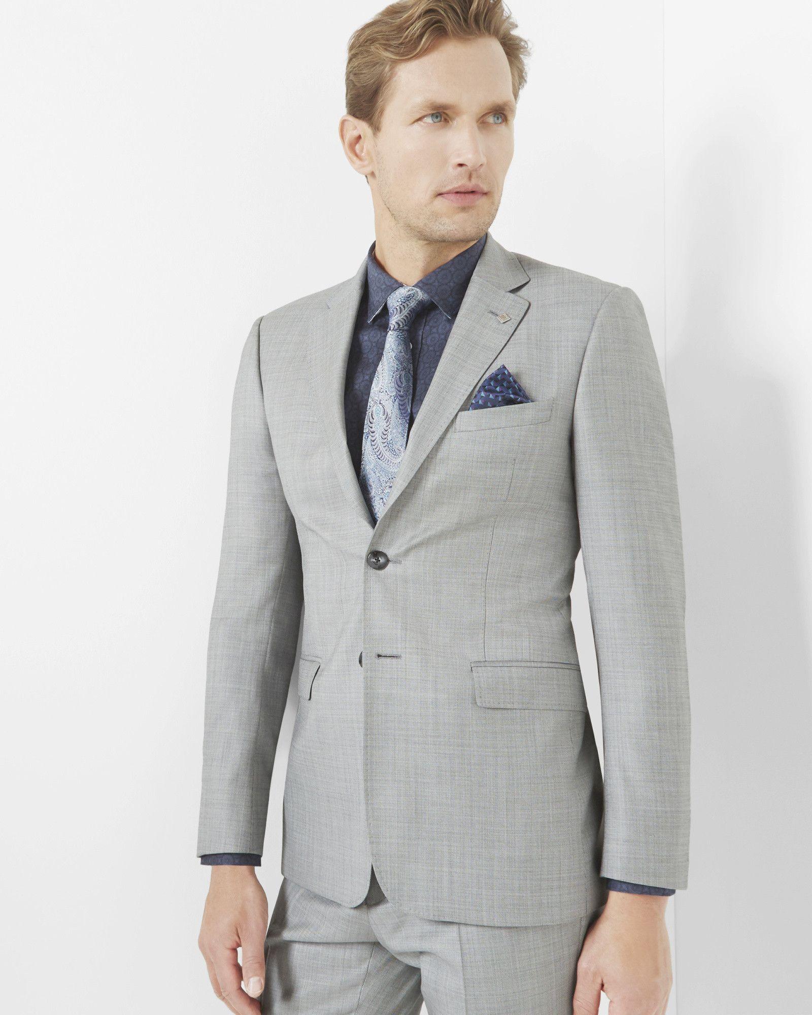8d201ba5e508 Debonair wool jacket - Light Gray