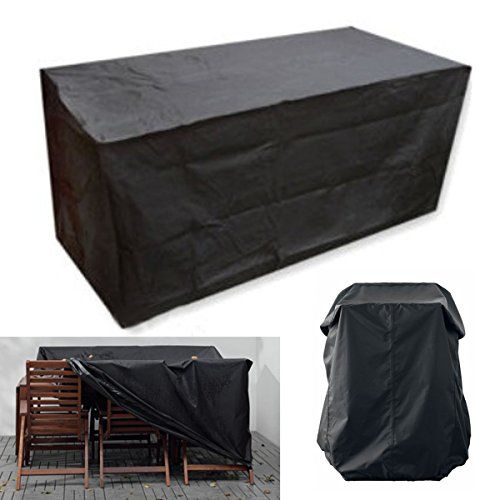 KINGSO Housse Pour Mobilier De Jardin Étanche Bâche Couverture Housse De Protection  Meuble Table Salons De