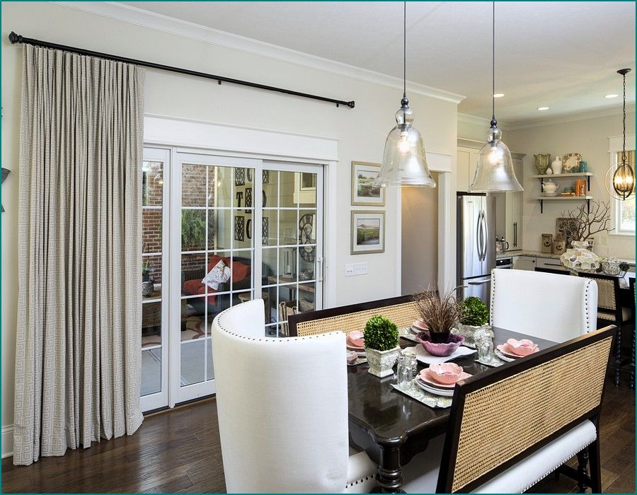 window treatments for sliding glass doors ideas | den/family room