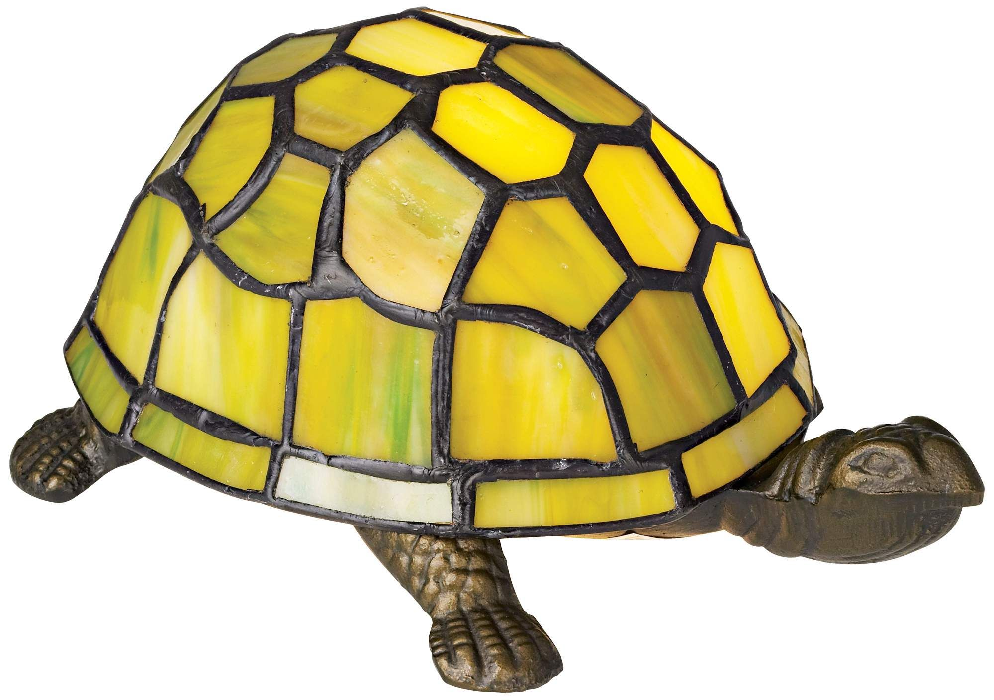 Table Lamps Green Tortoise Tiffany Style Accent Lamp Accent Lamp Lamp Tiffany Style