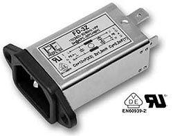 FD Filtro serie FD monofásico multifunción con conector IEC.