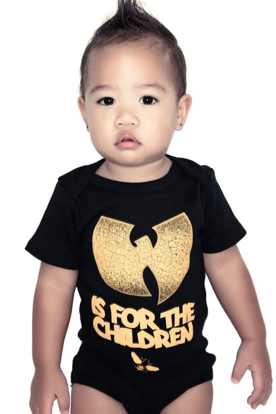 Wutang is for the children one piece wutang by dizasteroyale, $13.50