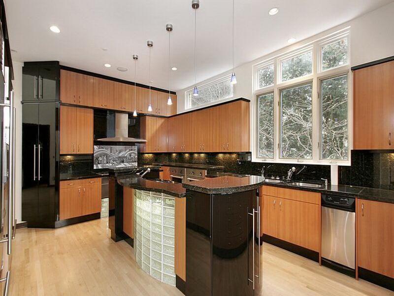 island cabinets | cabinet & shelving : elegant black brown cabinets