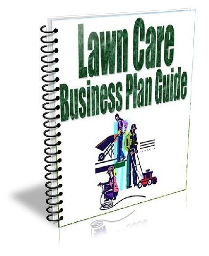 Lawn Care Business Plan Guide  Pgs Pdf Easy Shell Template