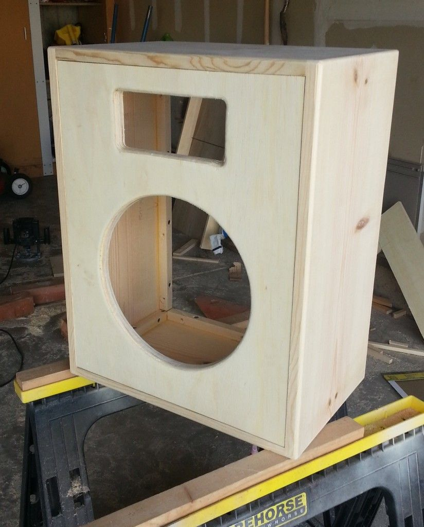 Building a 1x12 guitar speaker