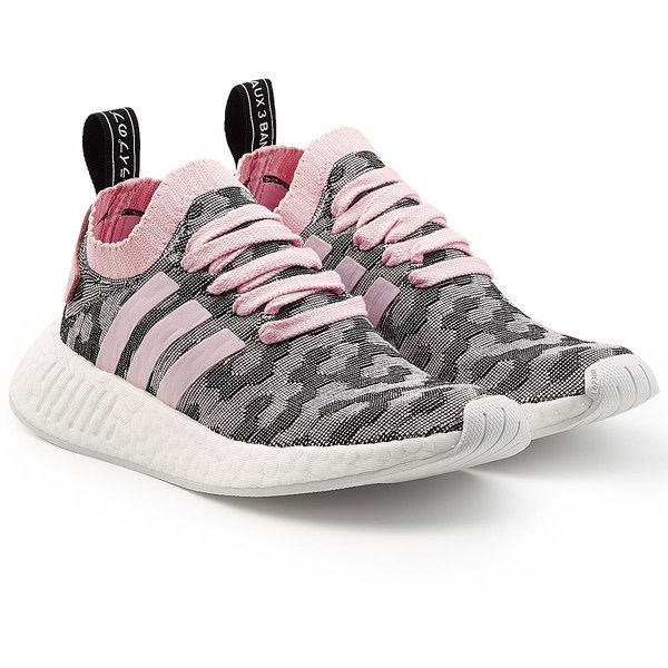 Adidas Originals NMD R2 Primeknit Primeknit R2 Sneakers (57 KWD)   liked on 533fa8