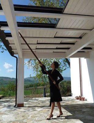 ARREDAMENTO E DINTORNI: coperture per terrazze e balconi | Garden ...