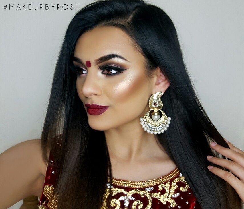 Hairstyle For Indian Wedding Guest: Indian Wedding Guest Makeup