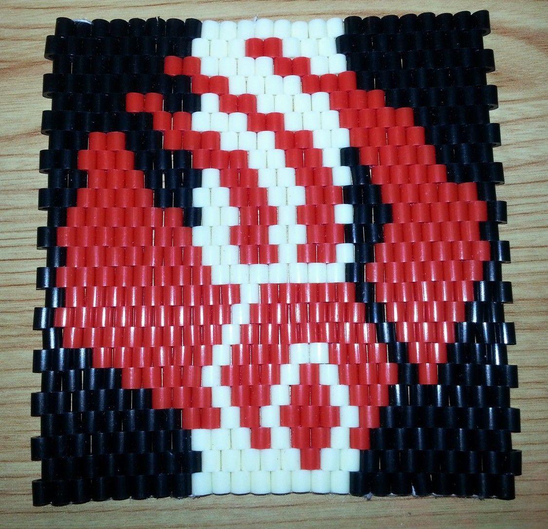 Star Trek Borg mat. | threading Hama beads by bergischertrekki ...
