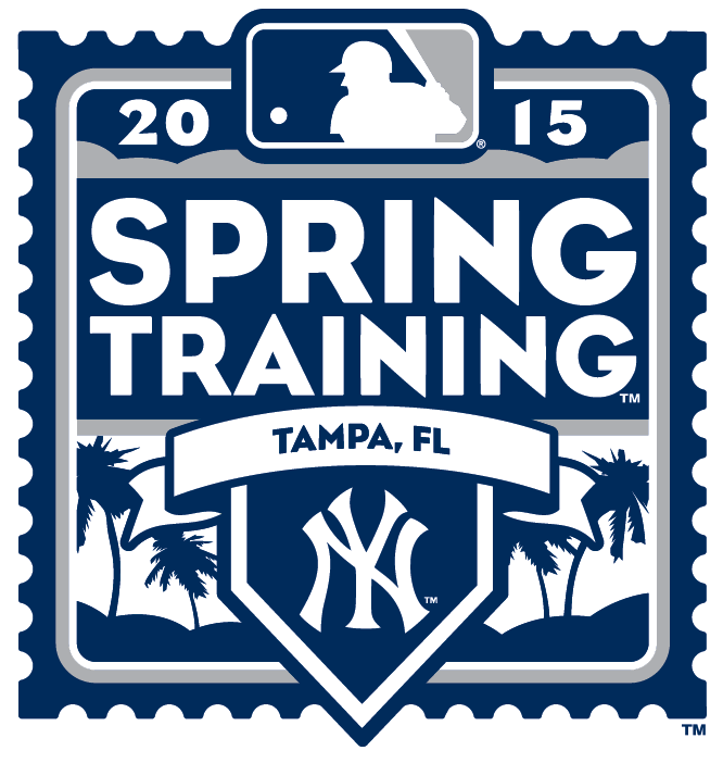 New York Yankees Event Logo Spring Training Logo Mlb Spring Training Event Logo