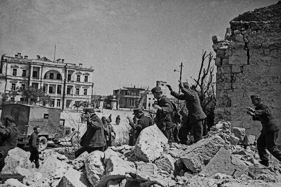 Открытка бумаги, картинки во время войны
