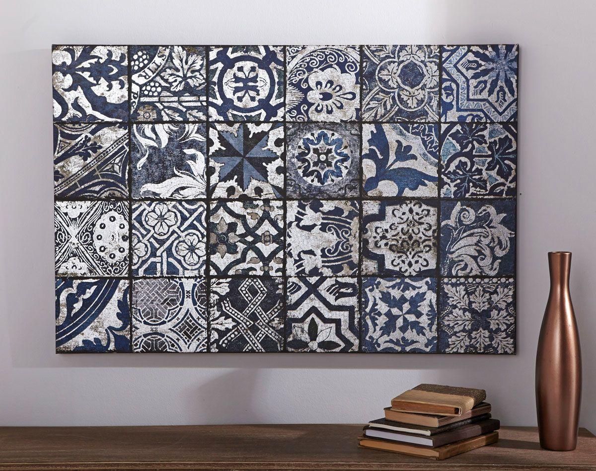 Idée: tableau mosaique de carreaux ciment | Idées pour la maison ...