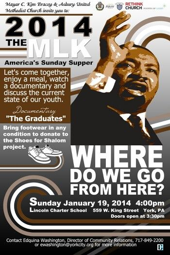 Martin Luther King Dinner Flyer For York City Mayor | Flyers