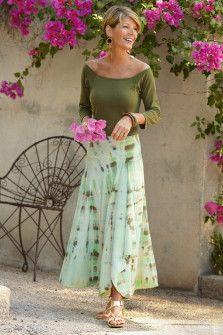 Soft in Motion...Soledad Skirt