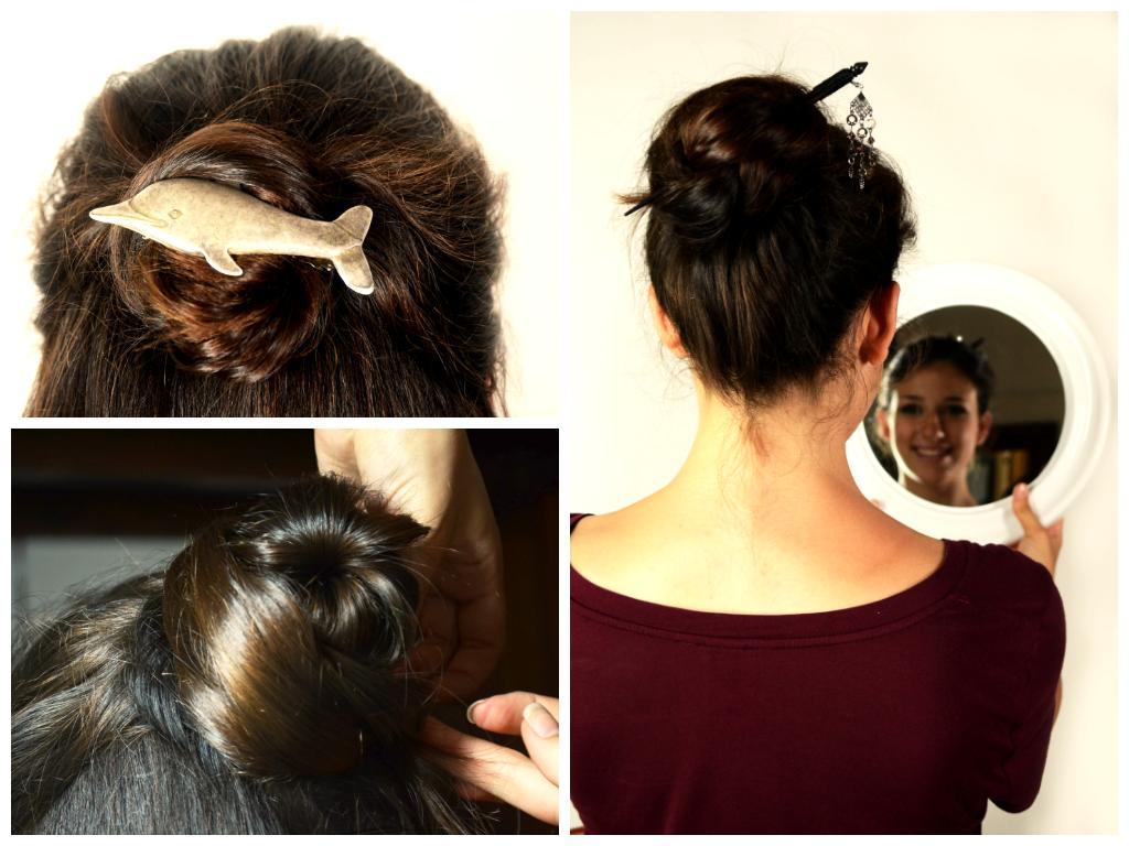3 simple to do, yet pretty hairstyles. - tre acconciature semplici da fare, ma di sicuro effetto