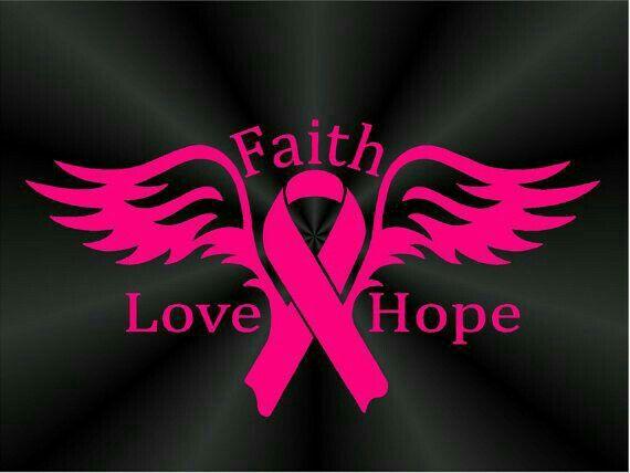 Car Magnet Pink Ribbon Cross Breast Cancer Faith Awareness Refrigerator New