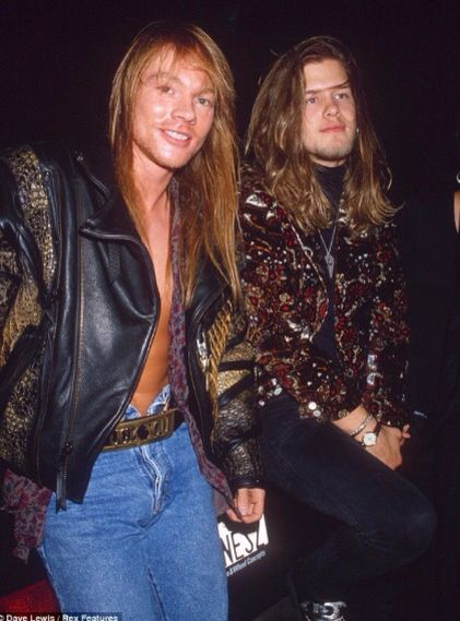 Does Anyone Know If This Is Axls Half Brother Stuart