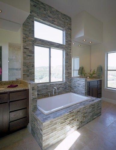 Photo of Northwest Austin contemporary bathroom