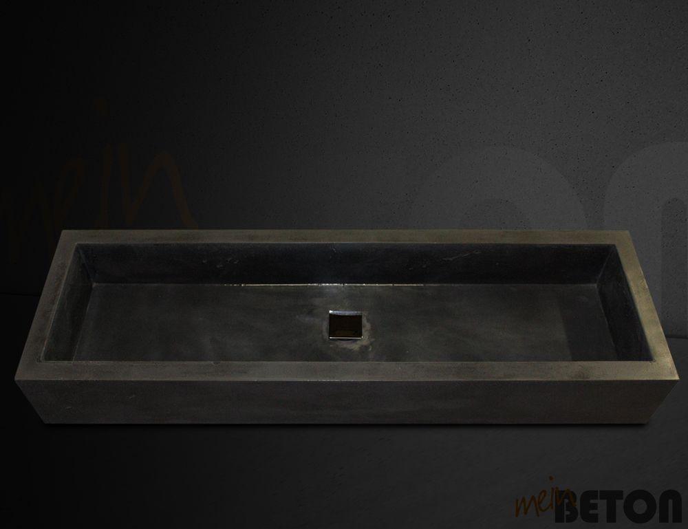 Wasc… | Betonwaschbecken, Betonwaschtisch, Waschtisch aus Beton ...