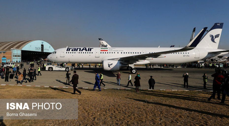 IranWire | First Airbus Lands in Tehran