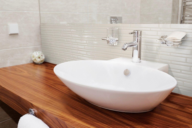 Milano Avorio Carrelage Adhesif Smart Tiles Simplement Peler Et Coller Le Produit Adhere Decoration Salle De Bain Carrelage Mural Adhesif Revetement Adhesif