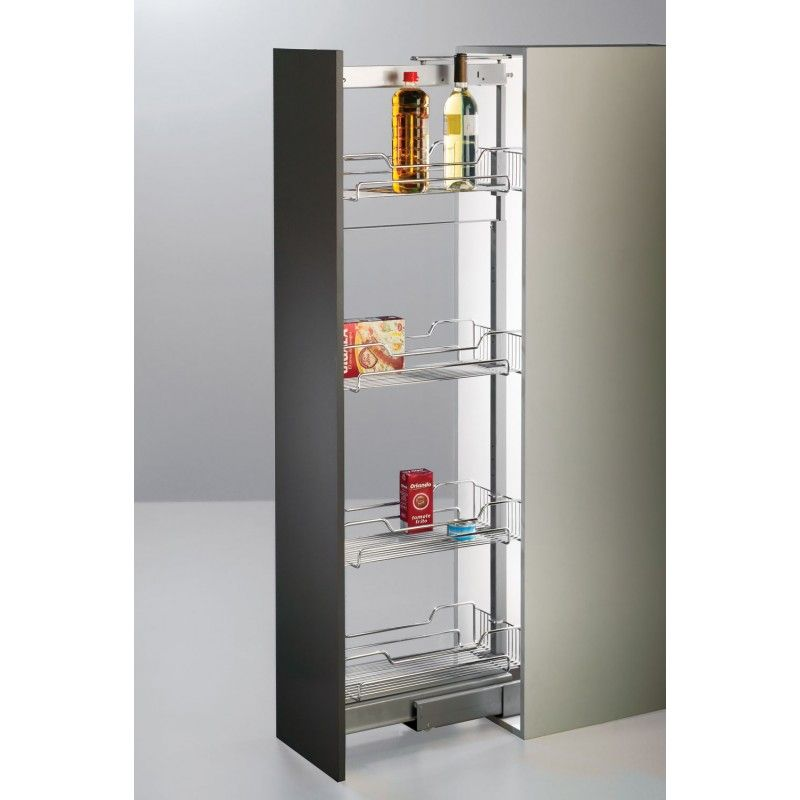 Columna despensero extra ble con freno para armarios de - Armarios de cocina antiguos ...