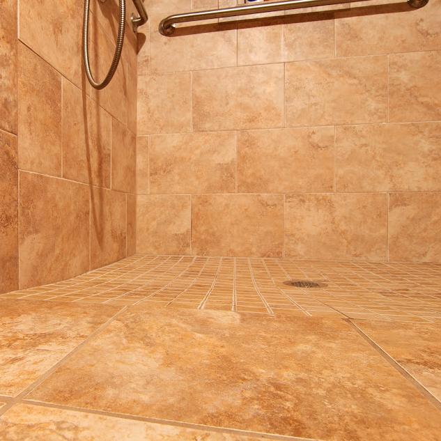 Wheelchair Accessible Bathroom By Bauscher Construction