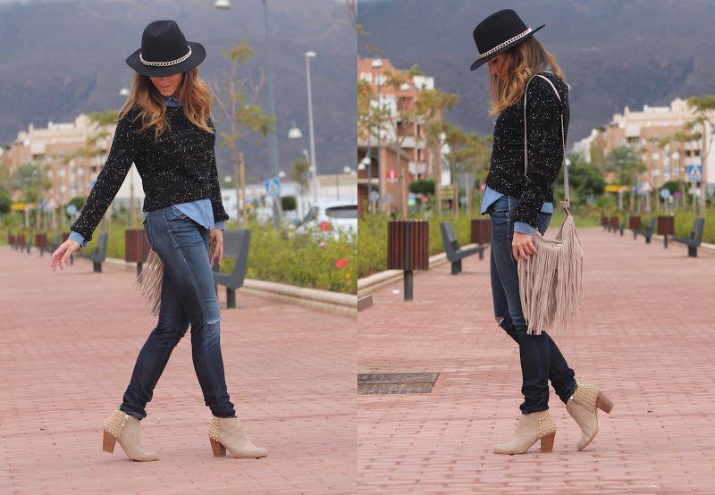 Moda en la calle IX: Tami, de Almería (Revolviendo en mi baúl)