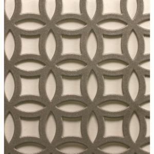 M D Building Products 1 Ft X 2 Ft Satin Nick Elliptical Aluminum Sheet 57010 With Images Decorative Metal Sheets Aluminium Sheet